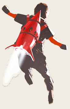 Rocket-Powered Jetpack